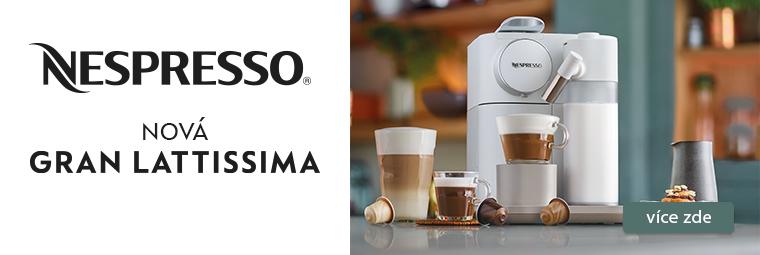 Káva s Gran Lattissima přináší ještě krásnější rána