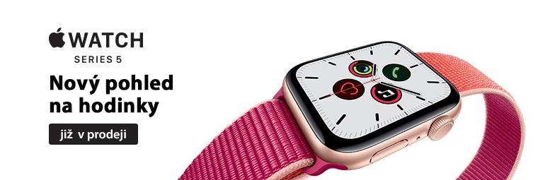 Nové Apple Watch Series 5 jsou v prodeji