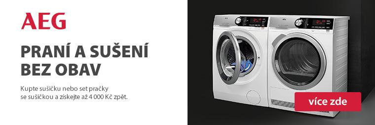 Profesionálové od AEG ochrání vaše prádlo i s bonusem až 4 000 Kč