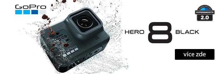 Vydej se za dobrodružstvím s novými GoPro HERO 8 a GoPro MAX