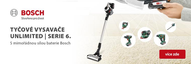Méně času na úklid, více na zábavu! Uklízejte efektivně s Bosch Unlimited