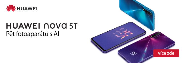 NOVINKA Huawei Nova 5T: Barvy, které vás oslní