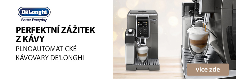 Provoníte letos Vánoce delikátní chutí kávy z kávovarů DeLonghi?