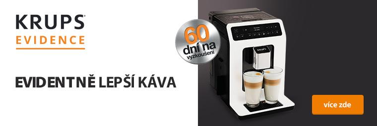 Vyzkoušejte lahodnou kávu s Espresso Krups Evidence na 60 dní