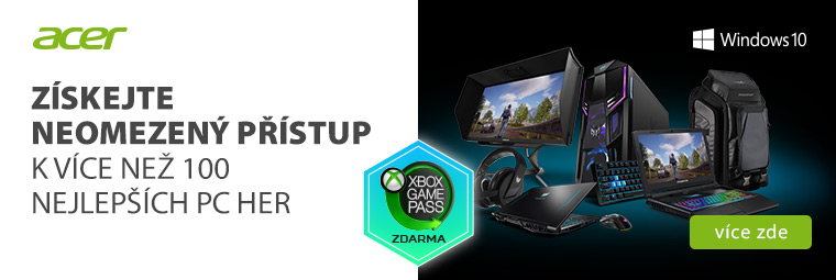Vstupte do světa her s Xbox Game Pass na novém notebooku či PC zdarma