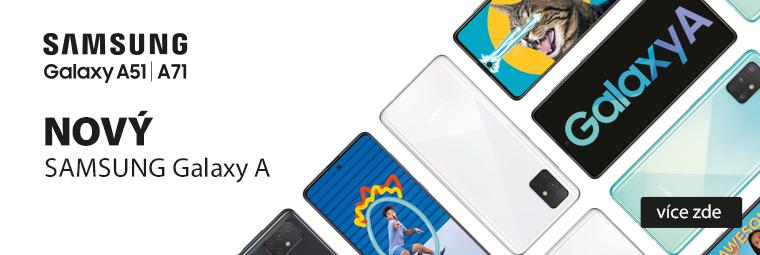 Přibyly 2 nové hvězdy: Samsung Galaxy A51 a Samsung Galaxy A71