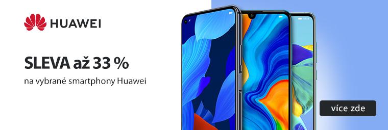 Přivítejte nový rok s novým smartphonem Huawei se slevou až 33 %