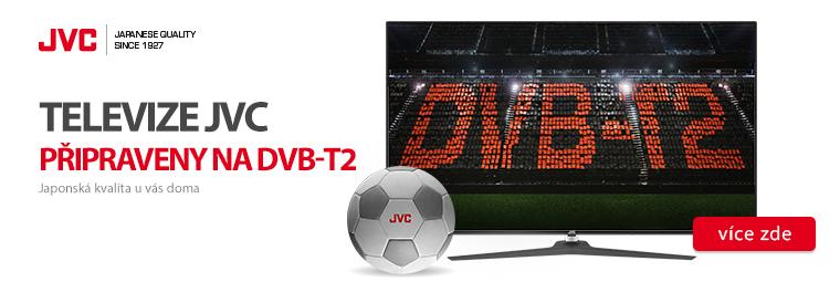 Televize JVC jsou na nové vysílání DVB-T2 připraveny
