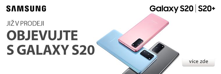 Prodej novinek Samsung Galaxy S20, S20+ a S20 Ultra 5G