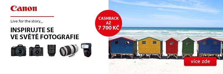 Focení bude radost s Canon a cashbackem až 7 700 Kč