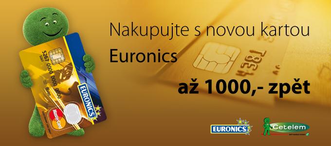 fc5d1d66f AKCE VE VŠECH PRODEJNÁCH • NAKUPTE S KARTOU EURONICS A UŠETŘETE! NA NÁKUP S  KARTOU SLEVA 10 % – ZÍSKÁTE AŽ 1000 KČ ZPĚT