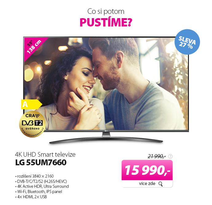 4K UHD Smart televize LG 55UM7660
